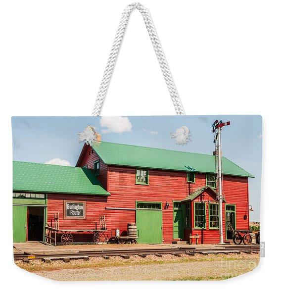 1906 Depot Weekender Tote Bag