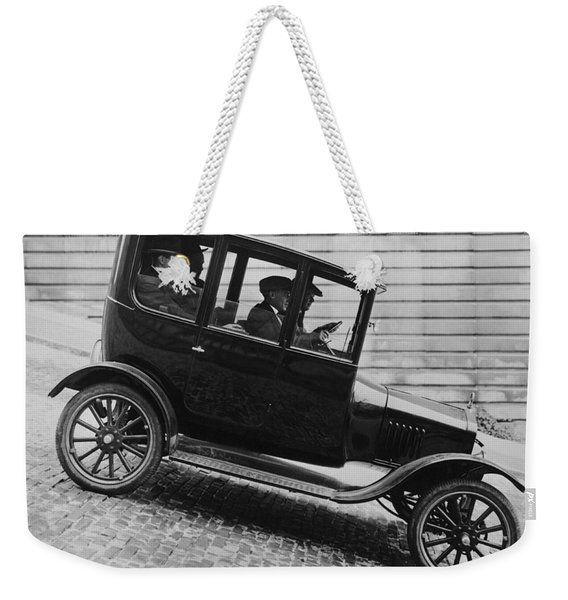 1921 Ford Model T Tudor Weekender Tote Bag
