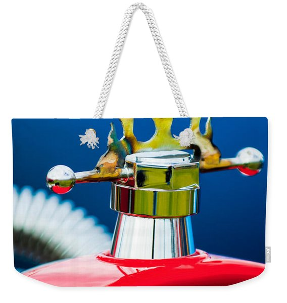 1923 Ford T-bucket Aftermarket Hood Ornament Weekender Tote Bag