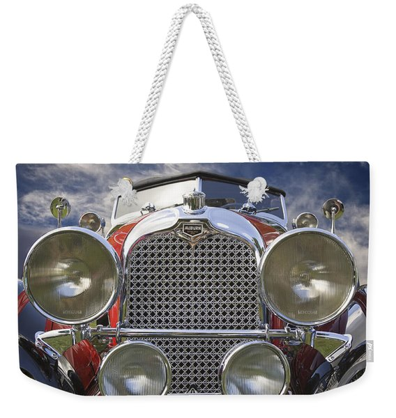 1928 Auburn Model 8-88 Speedster Weekender Tote Bag