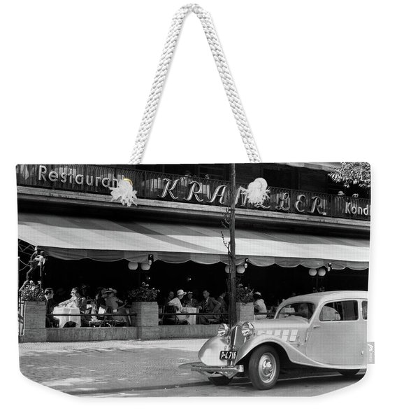 1930s Cafe Kranzler Kurfurstendamm Weekender Tote Bag