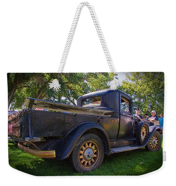 1931 Buick Converted To Truck Weekender Tote Bag