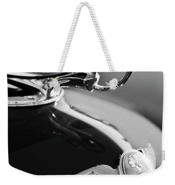 1933 Pontiac Hood Ornament 4 Weekender Tote Bag