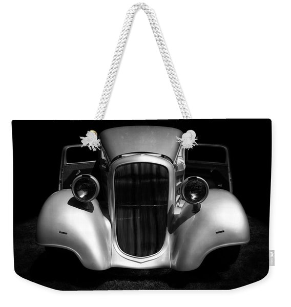 1934 Chevrolet 3 Window Coupe Weekender Tote Bag