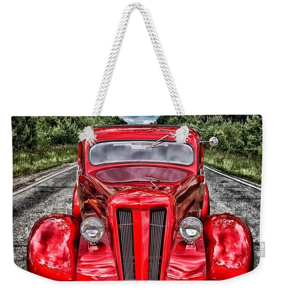 1935 Ford Window Coupe Weekender Tote Bag