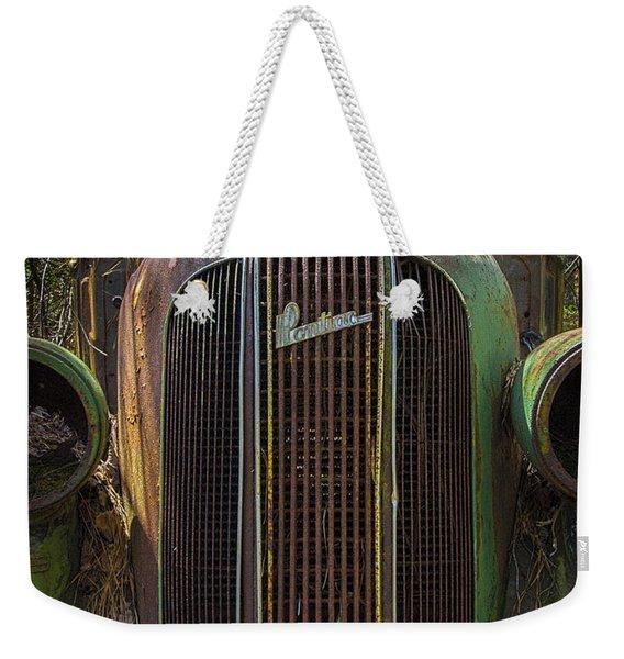 1936 Pontiac Head On Weekender Tote Bag