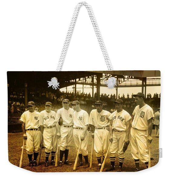 1937 All Stars Weekender Tote Bag