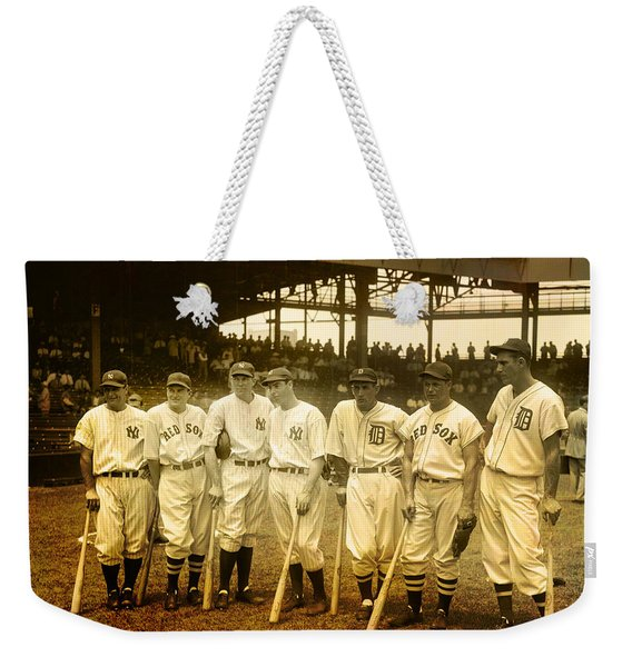 1937 All Stars Weekender Tote Bag