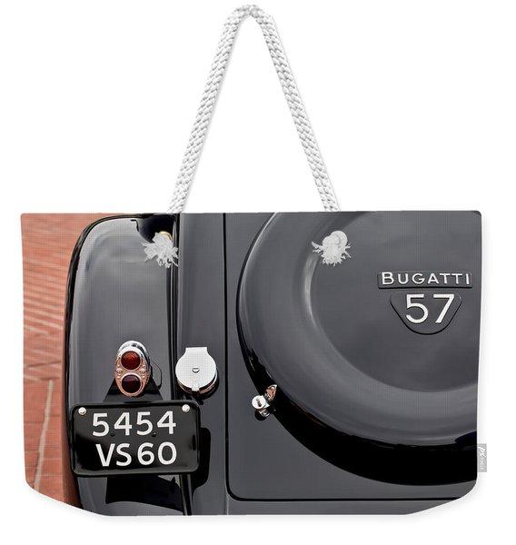 1937 Bugatti Type 57c Ventoux Weekender Tote Bag