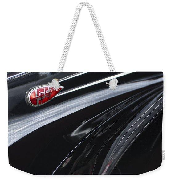 1939 Lincoln Zephyr Emblem Weekender Tote Bag