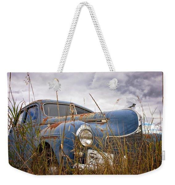 1940 Dodge 4 Door Luxury Liner Weekender Tote Bag