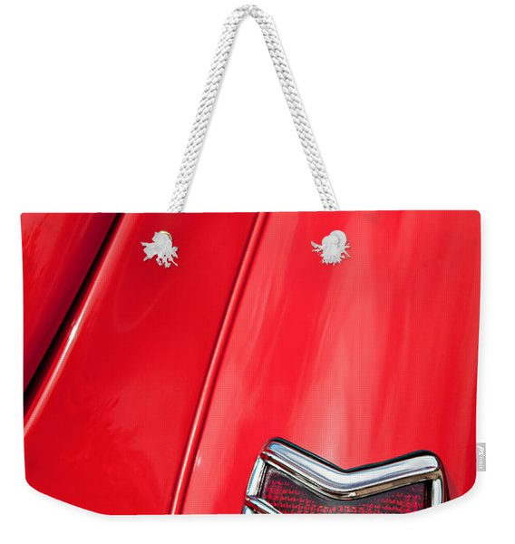 1940 Ford Deluxe Coupe Taillight Weekender Tote Bag