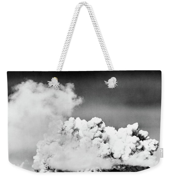 1940s 1950s Atomic Bomb Explosion Weekender Tote Bag
