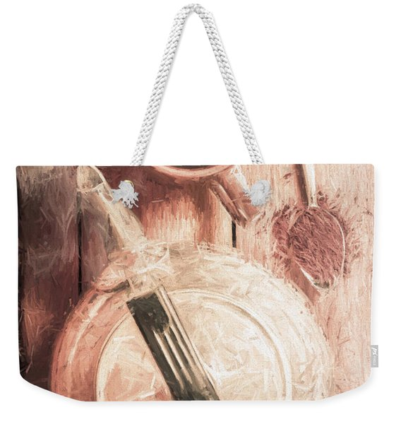1940s Coffee Shop Stop Weekender Tote Bag