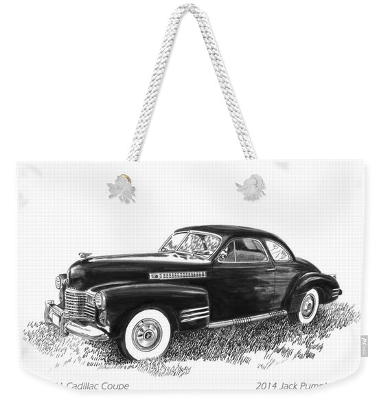 1941 Cadillac 62 Coupe Weekender Tote Bag