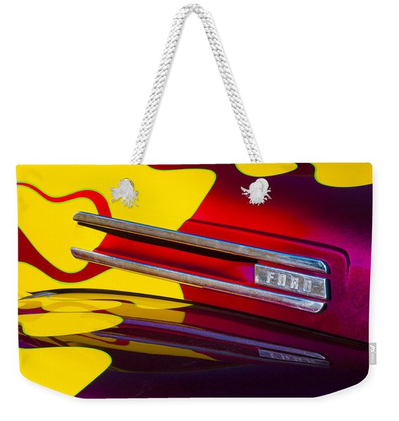 1948 Ford Panel Truck Weekender Tote Bag