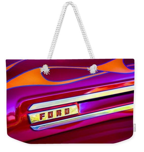 1948 Ford Pickup Weekender Tote Bag