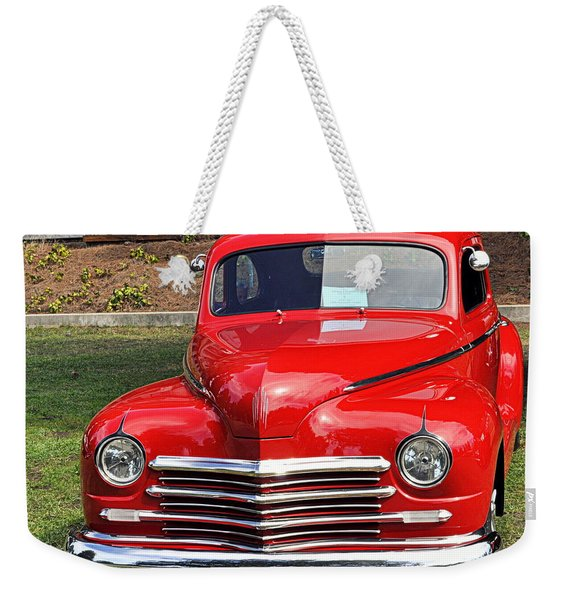 1948 Plymouth Coupe Weekender Tote Bag