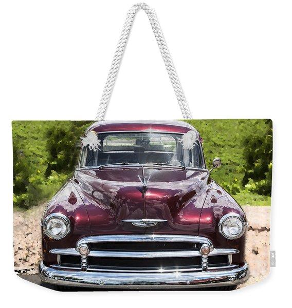 1950 Chevrolet Beauty Weekender Tote Bag