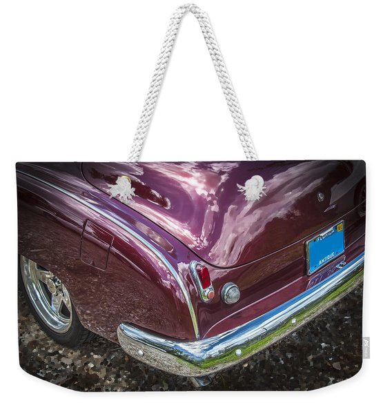 1950 Chevrolet Tailights And Bumper Weekender Tote Bag