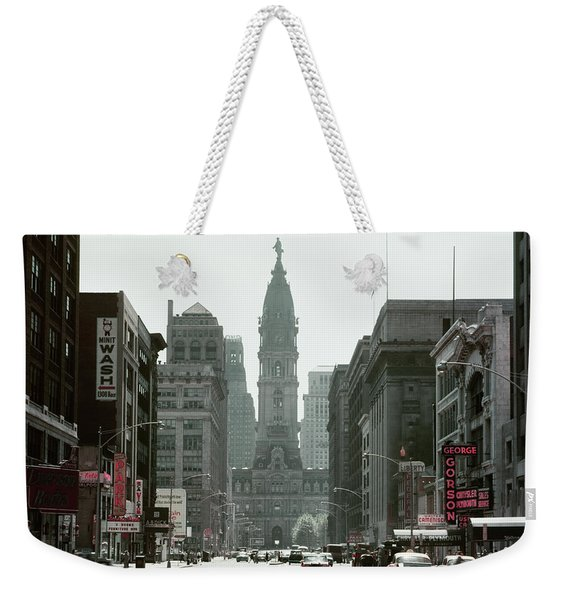1950s North Broad Street Looking South Weekender Tote Bag