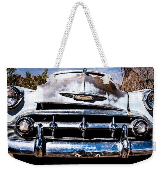 1953 Chevy Bel Air Weekender Tote Bag