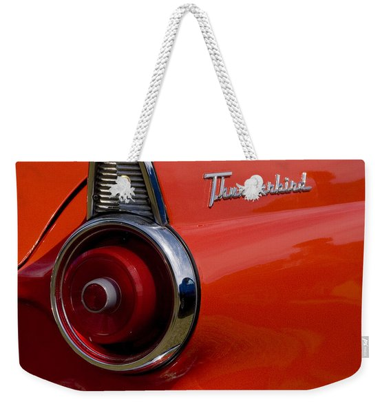 1955 427 Thunderbird Tail Light Weekender Tote Bag