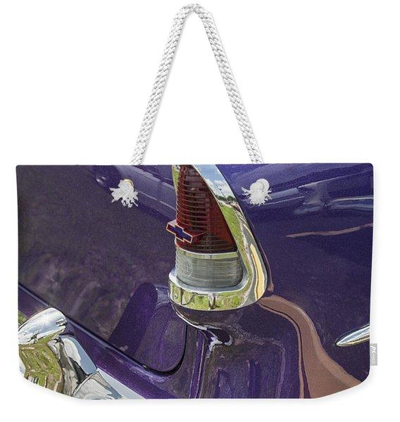 1955 Chevrolet Weekender Tote Bag