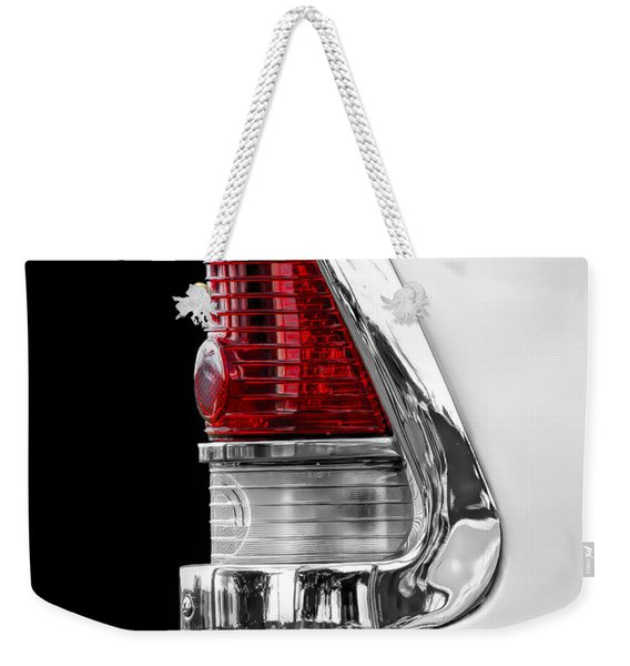 1955 Chevy Rear Light Detail Weekender Tote Bag