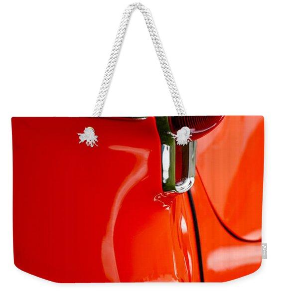 1955 Oldsmobile Taillight Weekender Tote Bag