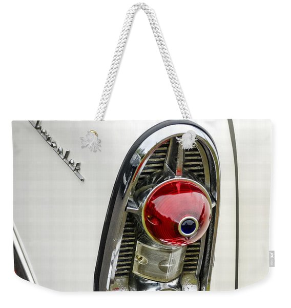 1956 Chevy Taillight Weekender Tote Bag