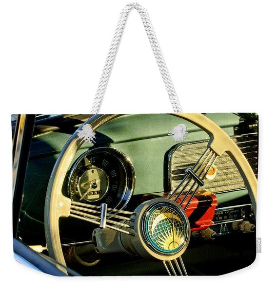 1956 Volkswagen Vw Bug Steering Wheel 2 Weekender Tote Bag