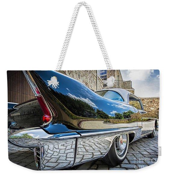1957 Cadillac Eldorado Weekender Tote Bag