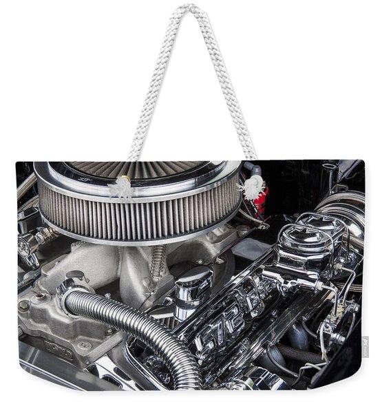 1957 Chevrolet Bel Air Big Block Weekender Tote Bag