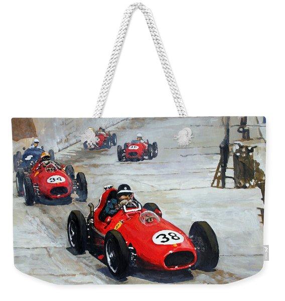1958 Monaco Gp  Weekender Tote Bag
