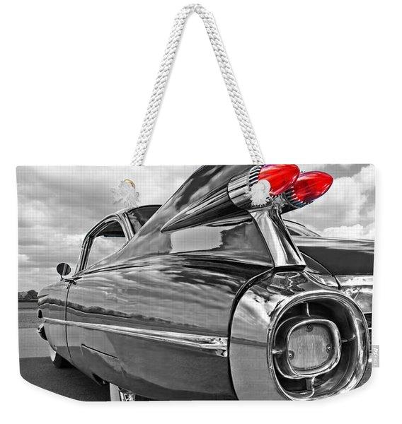 1959 Cadillac Tail Fins Weekender Tote Bag