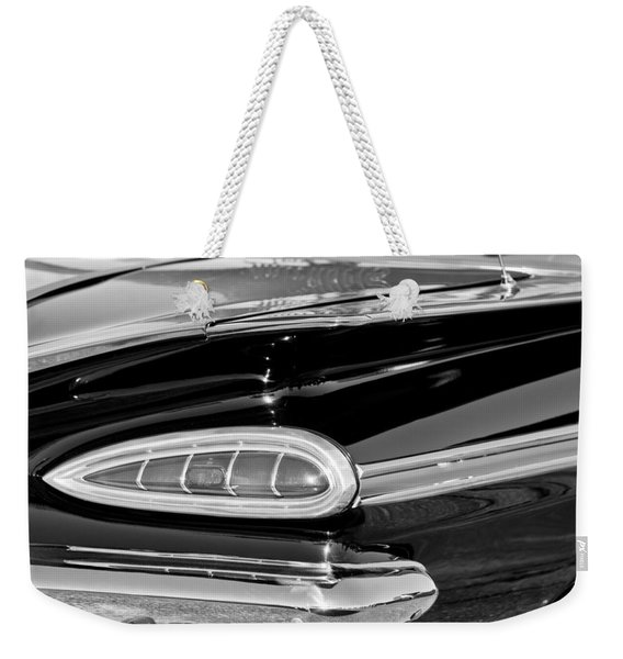 1959 Chevrolet Impala Tail Light Weekender Tote Bag