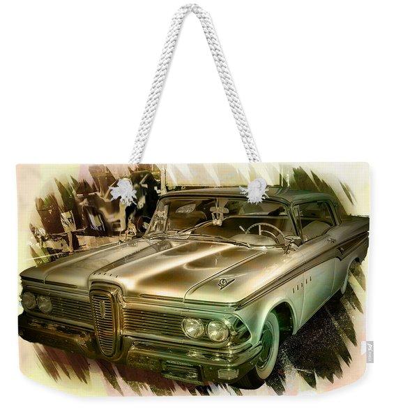 1959 Edsel Weekender Tote Bag