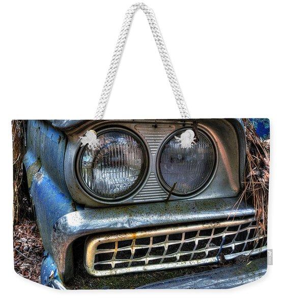 1959 Ford Galaxie 500 Weekender Tote Bag