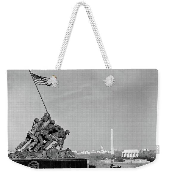 1960s Marine Corps Monument Weekender Tote Bag