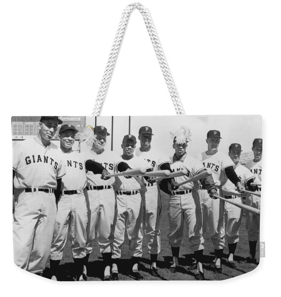 1961 San Francisco Giants Weekender Tote Bag