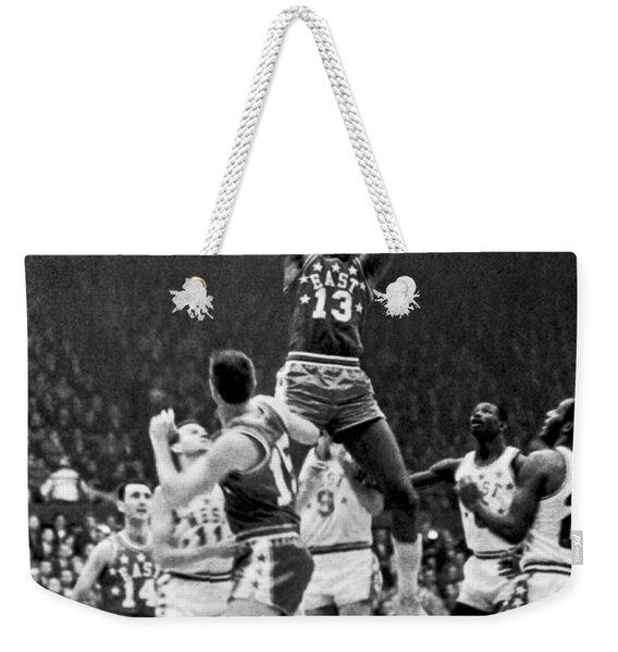 1962 Nba All-star Game Weekender Tote Bag