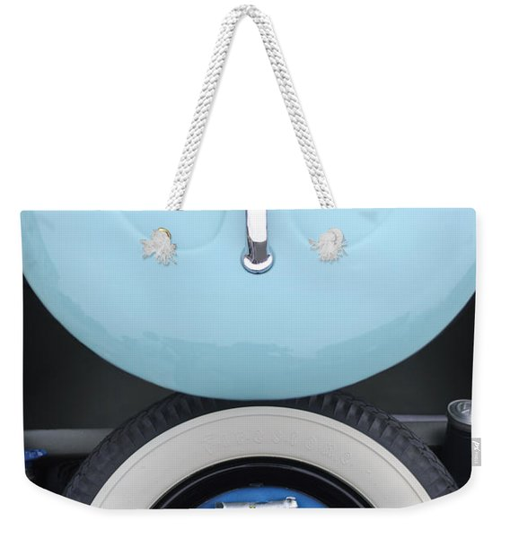 1962 Volkswagen Vw Bug Tool Kit Weekender Tote Bag