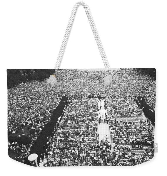 1963 March On Washington Weekender Tote Bag