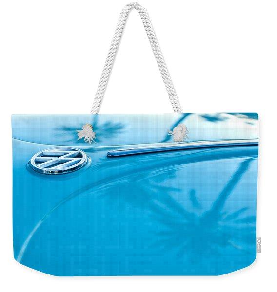 1964 Volkswagen Vw Bug Emblem Weekender Tote Bag