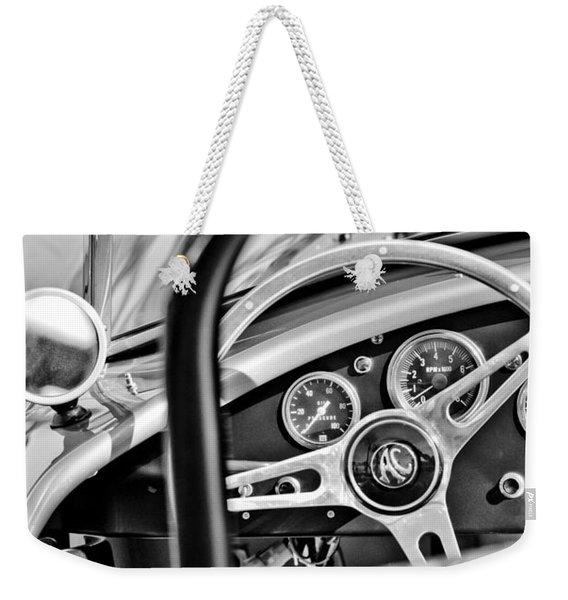 1965 Ac Cobra Steering Wheel Weekender Tote Bag