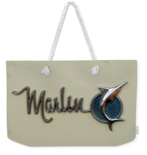 1965 Rambler Marlin Weekender Tote Bag