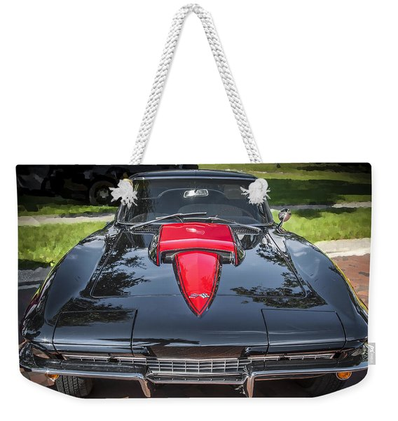 1967 Chevrolet Corvette 427 435 Hp Weekender Tote Bag