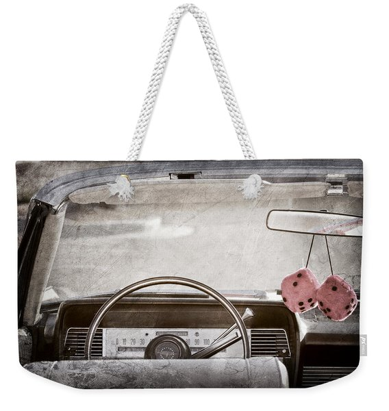 1967 Lincoln Continental Weekender Tote Bag