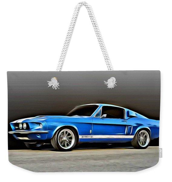 1967 Shelby Mustang Gt500 Weekender Tote Bag
